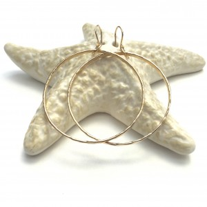 Beach Girl Wave Earring